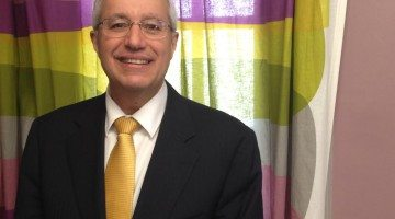 Photo: Vic Fedeli in Timmins. Supplied by Taylor Ablett.
