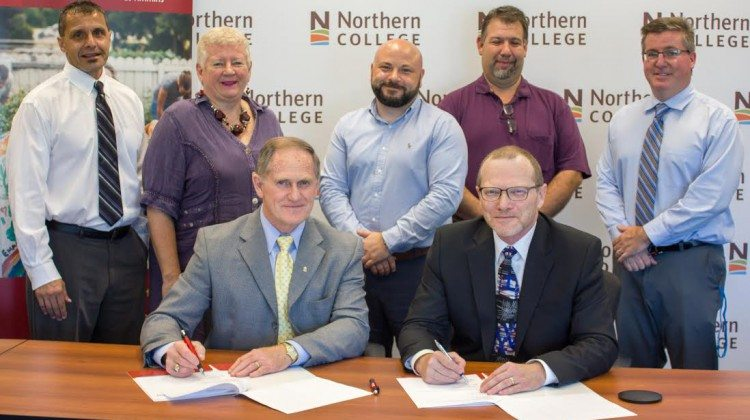 Algoma Univeristy - Northern College deal
