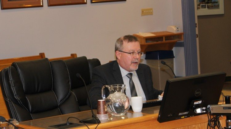 Photo: Treasurer Jim Howie. Supplied by Taylor Ablett.