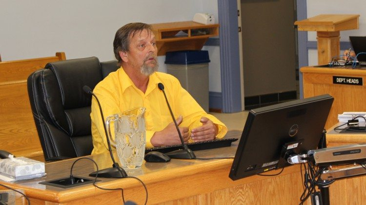 Photo: Downtown business owner Walter Palubiskie weighs in on the proposed changes to the smoking bylaw. Supplied by Taylor Ablett.