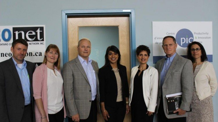 Photo: Some of those involved in the roundtable disucssion with Minister Bardish Chagger. Supplied by Paige Thompson, Productivity Innovation Centre.