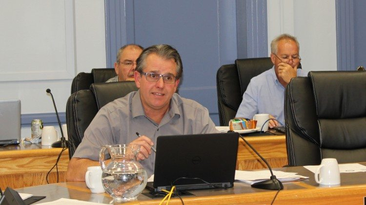 Photo: Councillor Rick Dubeau. Supplied by Taylor Ablett.