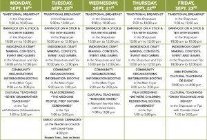 northern-indigenous-week-schedule