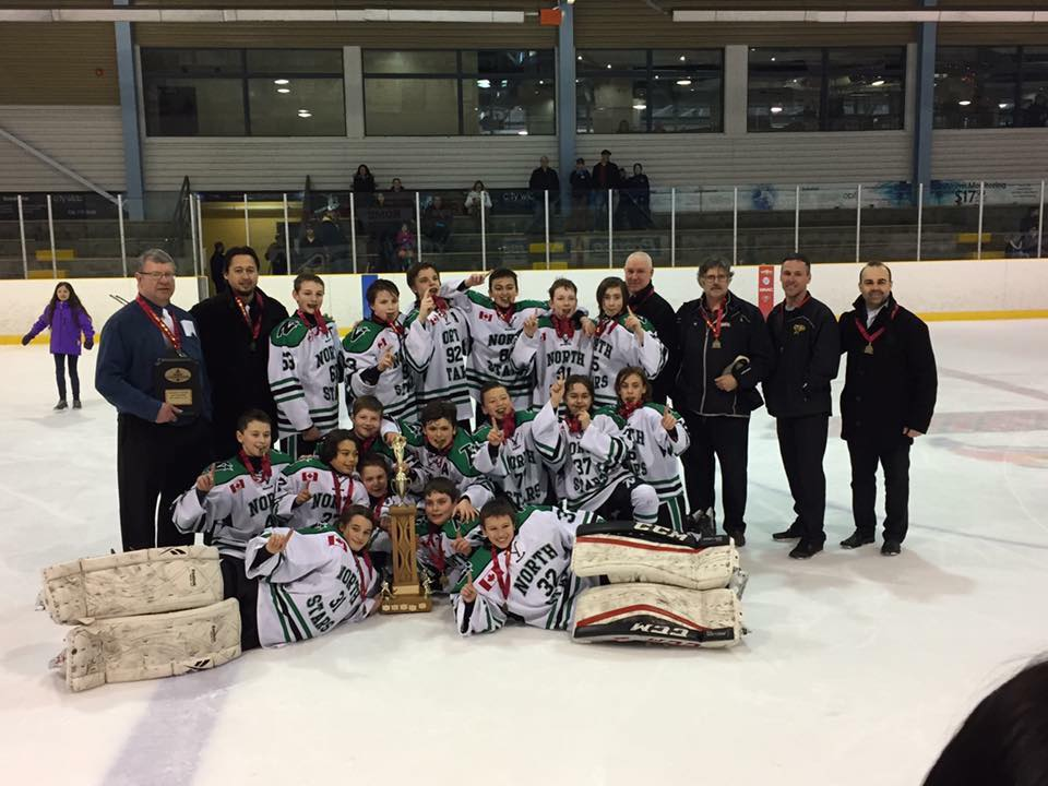Pee Wee Aa North Stars Off To Defend Provincial Title My