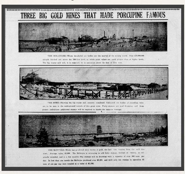 Porcupine Advance now online via Timmins Public Library - My