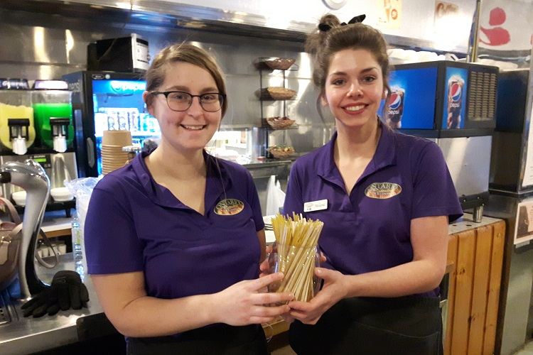 Spaghetti for a stir stick at The Mac - My Timmins Now